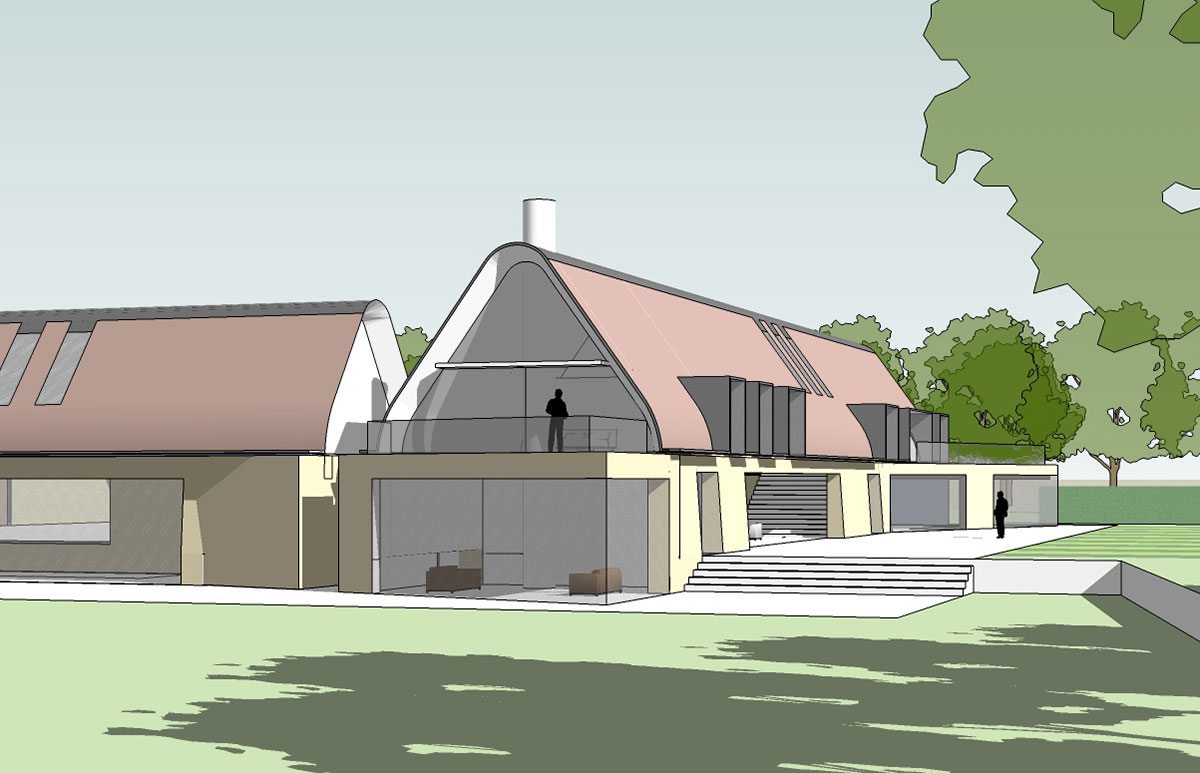 Poulton Hill Project - Adrian James Architects, Oxford