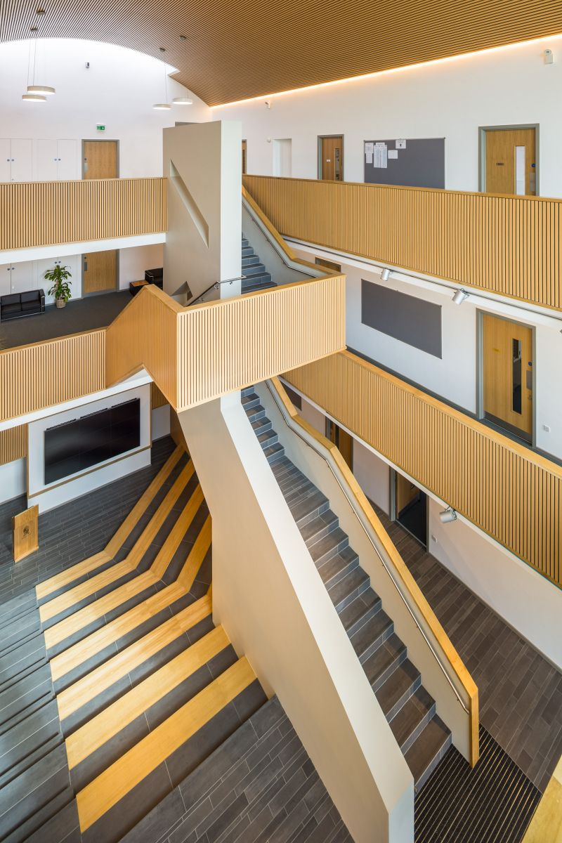 Hodgson Hall: Shrewsbury School Project - Adrian James Architects, Oxford