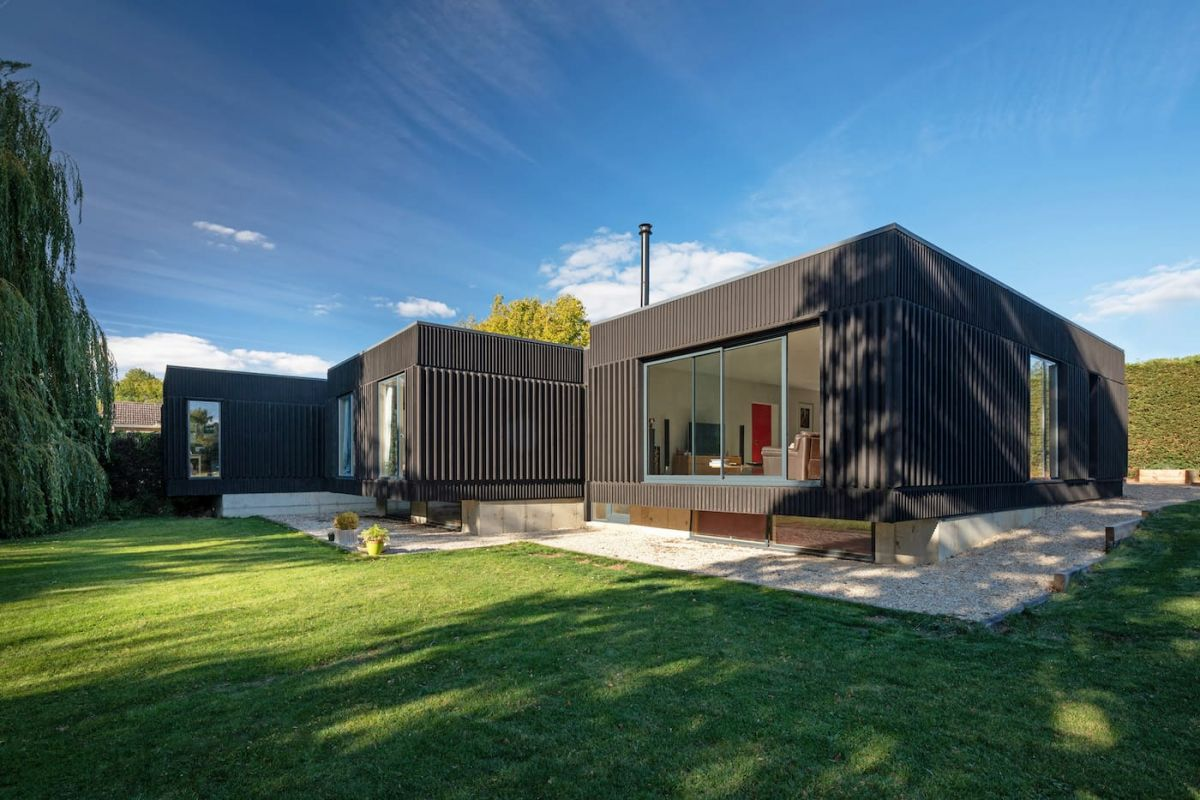 The Black House Project - Adrian James Architects, Oxford