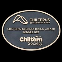 Incurvo wins the Chilterns Buildings Design Award 2019