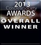 Concrete Society Awards 2013 OVERALL WINNER