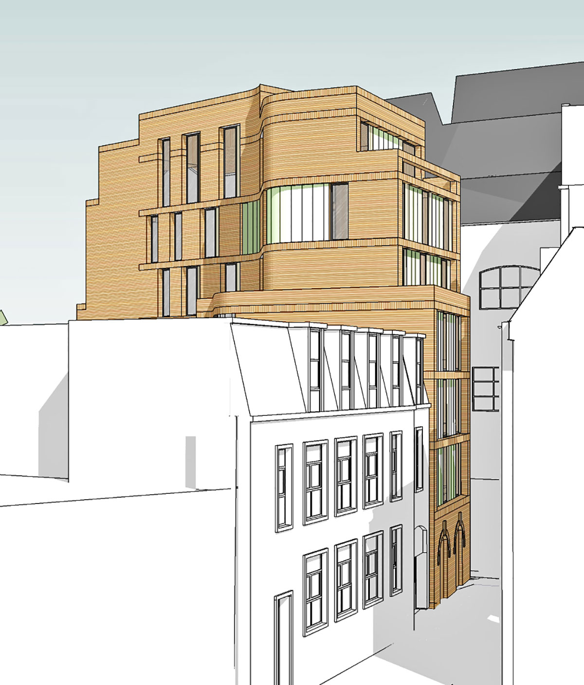 Friars Entry Project - Adrian James Architects, Oxford
