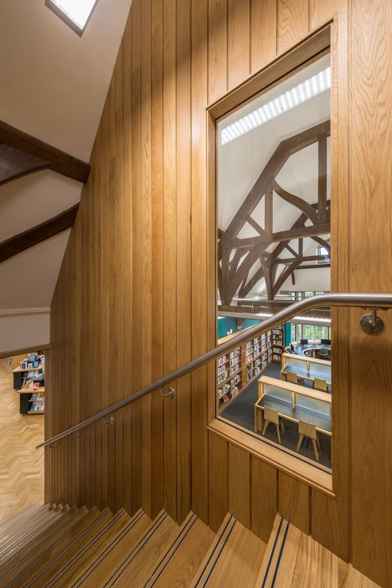 Moser Library Project - Adrian James Architects, Oxford