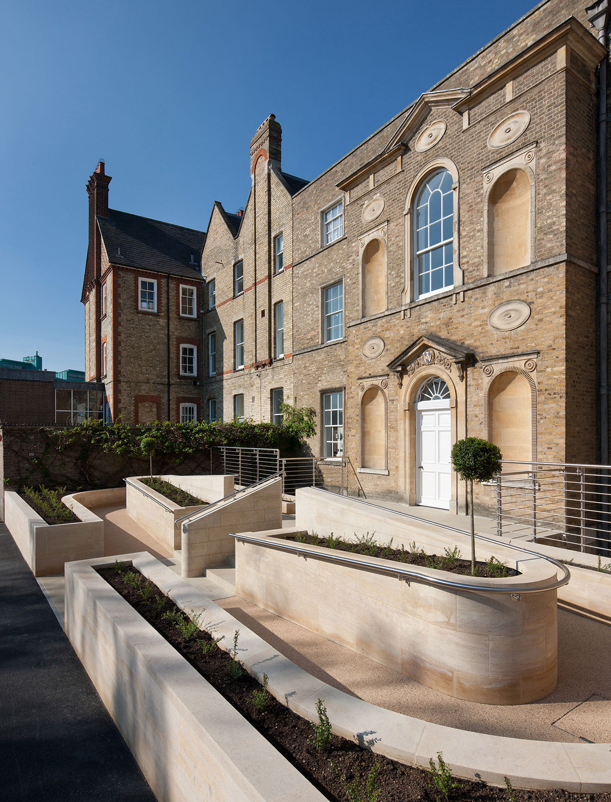 St Hilda's Entrance Project - Adrian James Architects, Oxford