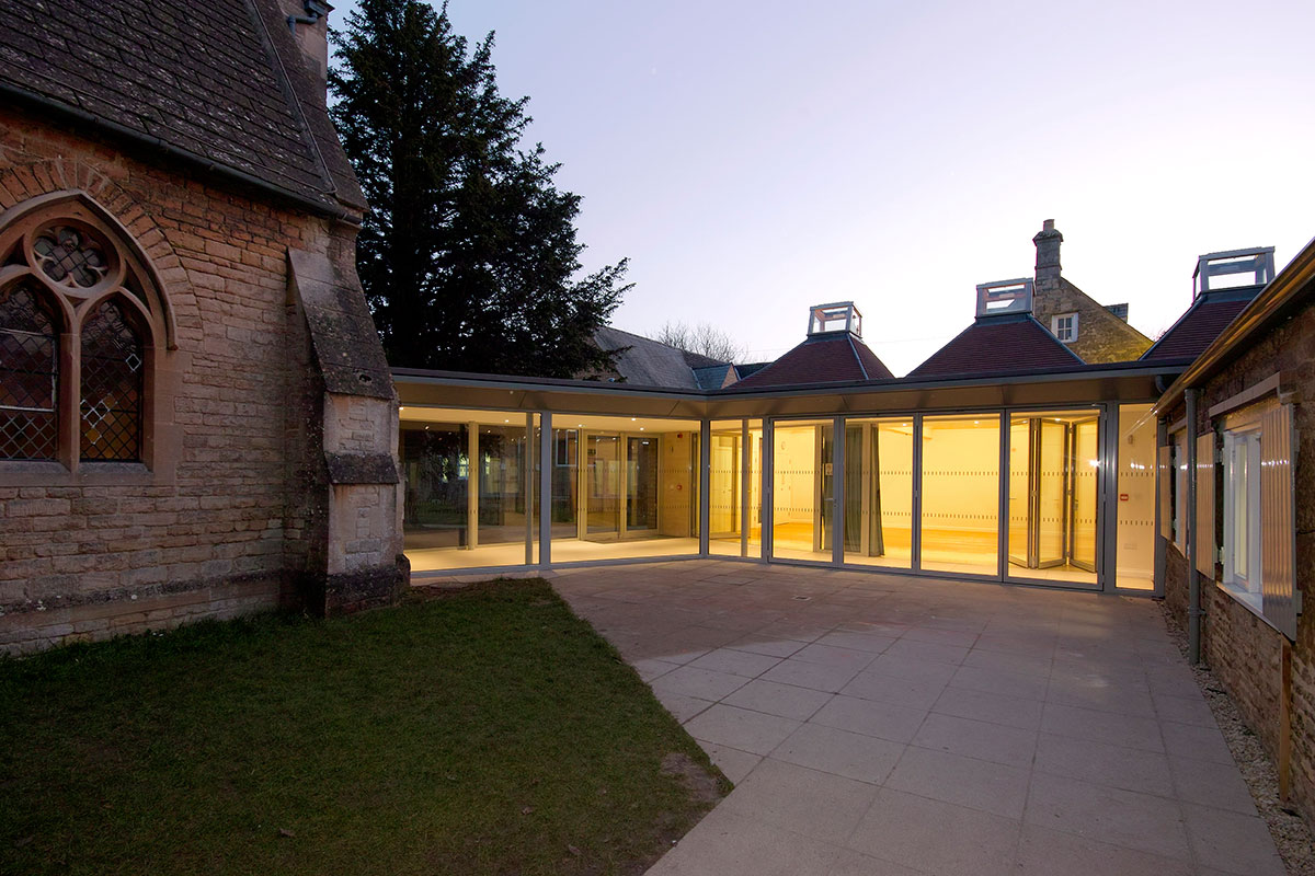 St Peter's Rooms Project - Adrian James Architects, Oxford